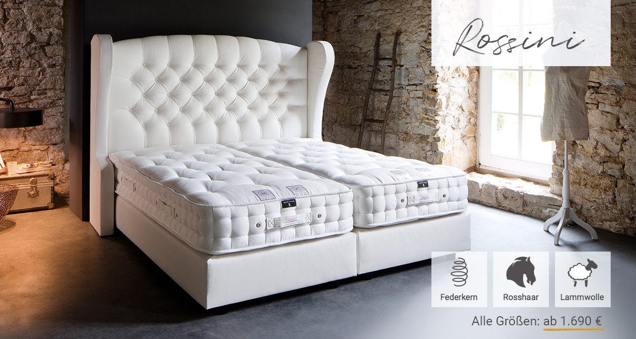 "Sattler Bedding Matratze ""Rossini"""